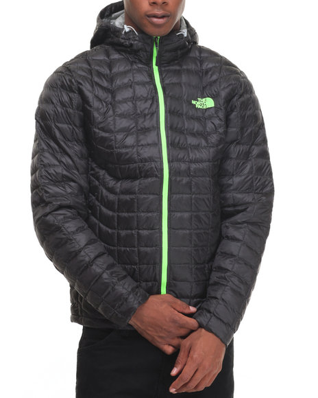 The North Face - Men Grey Thermoball Hoodie