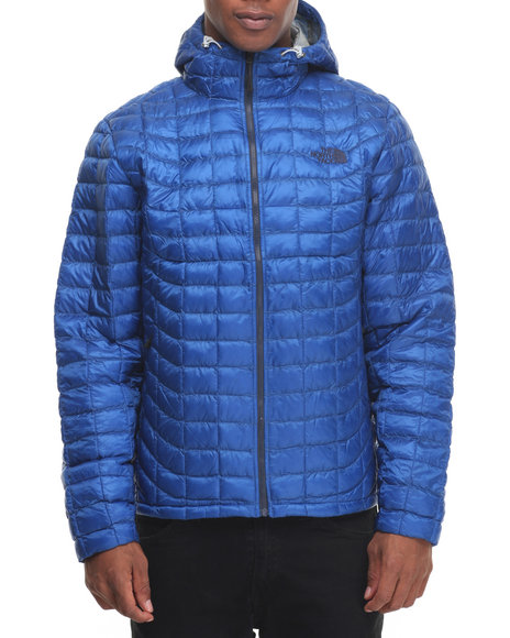 The North Face - Men Blue Thermoball Hoodie