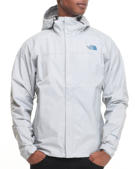 The North Face - Men Light Grey Venture Jacket