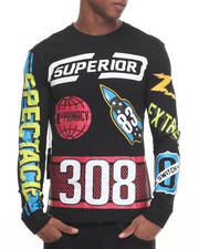 Buyers Picks - L/S Nascar Print Tee