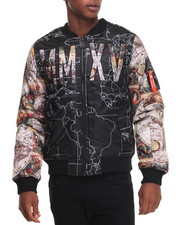 Buyers Picks - Globe Sublimation Bomber Jacket
