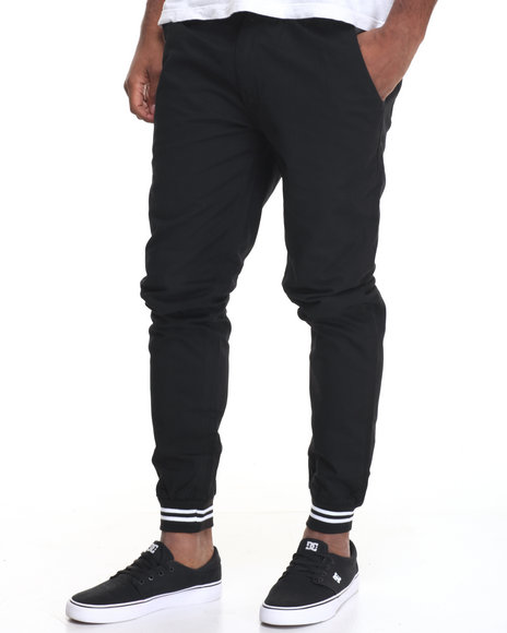 Diamond Supply Co Men Stone Cut Chino Pants Black 30