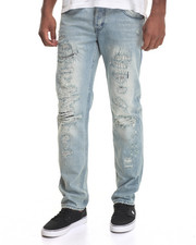 Jeans & Pants - Vulcan Destructed & Repaired Denim Jeans