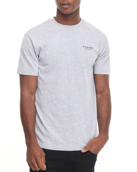 Diamond Supply Co Men Stone Cut Speckle Tee White X-Large
