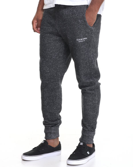 Diamond Supply Co Black Sweatpants