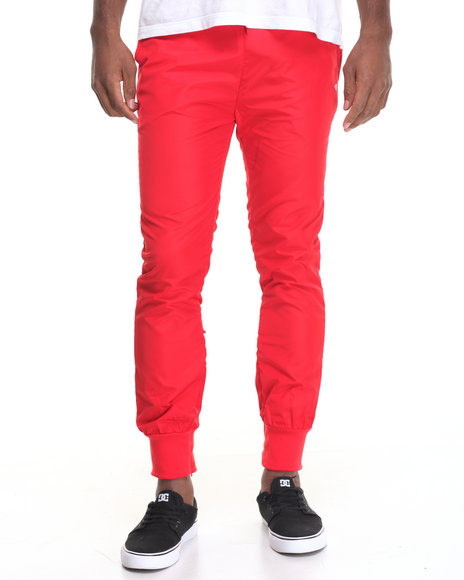 Diamond Supply Co Men Diamond Warm Up Pants Red Large