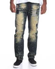 Jeans & Pants - Arnage Bleached Rip - And - Tear Denim Jeans