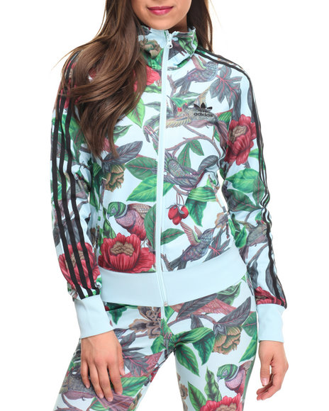 Adidas Women Florera Track Jacket Multi X-Small