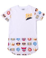 Tops - ELONGATED EMOJI TEE (8-20)