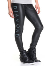 Bottoms - Stone Cut Liquid Leggings