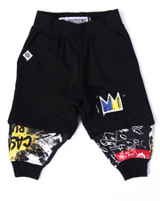 Akademiks - STREET ART COMPRESSION SHORT JOGGERS (INFANT)