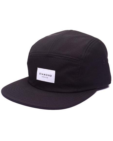Black 5-Panel/Camper