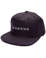 Men - Stone Cut Quilted Snapback Cap
