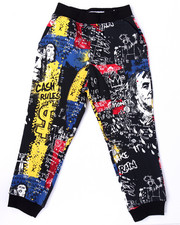 Bottoms - STREET ART ALLOVER PRINT JOGGERS (8-20)