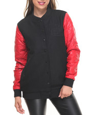 Women - Diamond Life Varsity Jacket