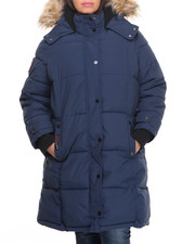 Outerwear - Hooded  Storm Cuff Parka