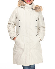 "Women - Nylon 36"" Cold Weather Heavy Parka w/Arm Patch"