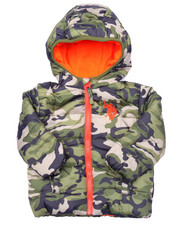 Boys - CAMO PUFFER JACKET (INFANT)