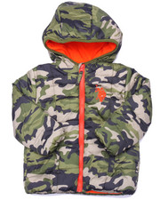 Sizes 2T-4T - Toddler - CAMO PUFFER JACKET (2T-4T)