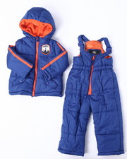 Boys - 2 PC PUFFER SNOWSUIT (2T-4T)