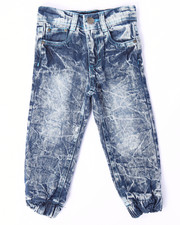 Bottoms - ACID CRINKLE WASH JEANS (2T-4T)