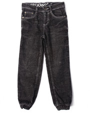 Bottoms - ACID CRINKLE WASH JOGGER JEANS (8-20)