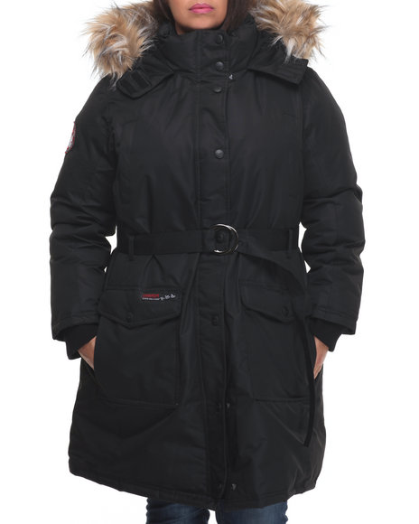 Fashion Lab Black Heavy Coats