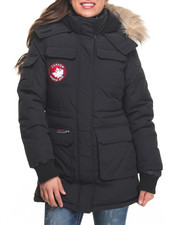 Heavy Coats - 2 in 1 System Short Parka