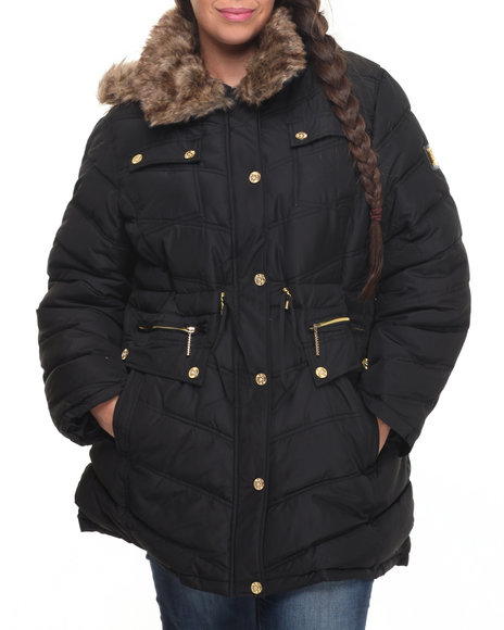 Rocawear Black Heavy Coats