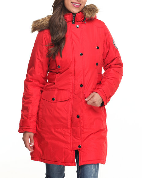 Red Heavy Coats