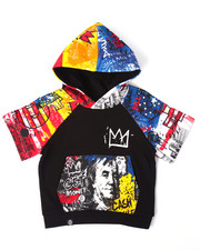 Sizes 2T-4T - Toddler - STREET ART S/S RAGLAN HOODY (2T-4T)