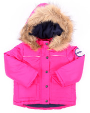 Girls - PARKA W/ FAUX FUR TRIM (2T-4T)