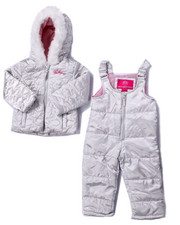 Snowsuits - 2 PC STAR QUILTED SNOWSUIT (2T-4T)