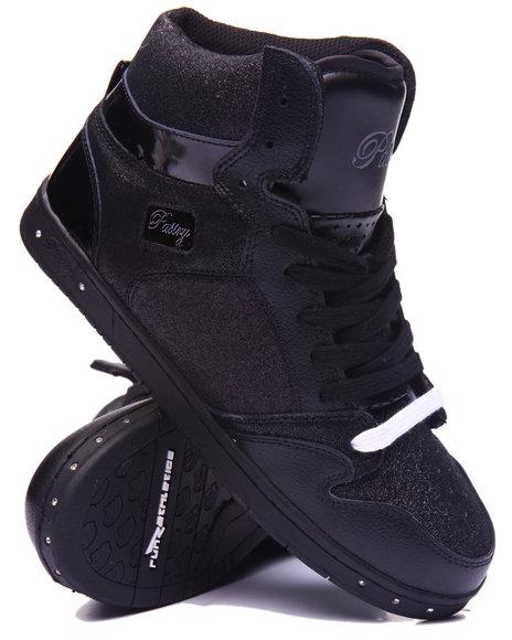Pastry - Women Black Glam Pie Glitter Sneaker - $60.00