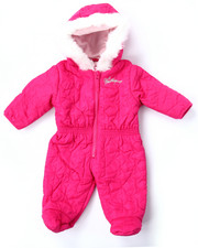 Snowsuits - STAR QUILTED PRAM (NEWBORN)