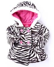 Outerwear - PLUSH ZEBRA JACKET (INFANT)