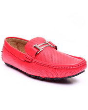 Shoes - Harry Perforated Driving Moccasin W/ Silver Ornament