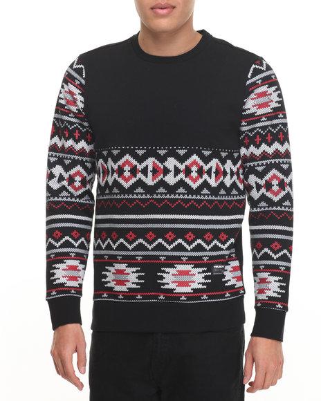 Trukfit Black Pullover Sweatshirts