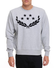 Men - Rich Gang Stars & Laurel Crewneck Sweatshirt