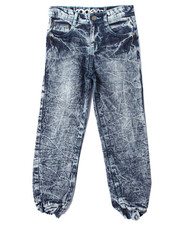 Boys - ACID CRINKLE WASH JOGGER  JEANS (8-20)