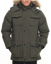 Men - Heavy Weight Vestee Parka Layered Jacket