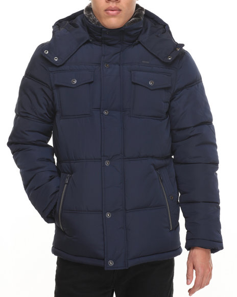Rocawear Navy Heavy Coats