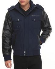 Rocawear - Bomber Jacket w/ Detachable Hood