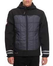 Light Jackets - Canada Weathergear Insulated softshell Jacket