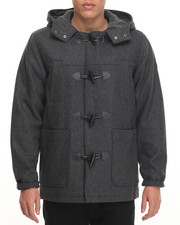 English Laundry - Wool Toggle Hooded Jacket