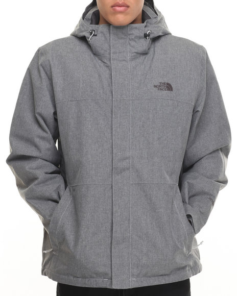 The North Face - Men Grey Inlux Insulated Jacket