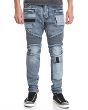 Men - Challenger Moto - Style Denim Jeans