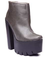Fashion Lab - Celine Ankle Platform Heel Boot