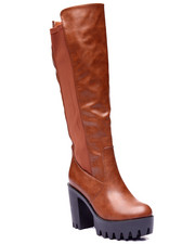 Fashion Lab - Peggy Platform Heel Boot