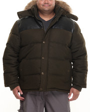 Heavy Coats - Wool Bubble Jacket (B&T)